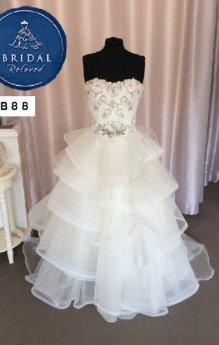 Badgley Mischa | Wedding Dress | A Line | B88