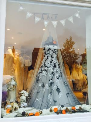 Image of Autumn window display
