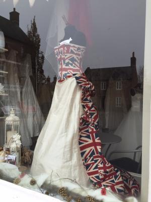 A Union Jack dress.