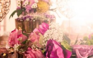 Rose – Gold – Confetti styled shoot