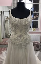 Benjamin Roberts   Wedding Dress   Drop Waist   D560K
