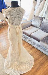 Claire Pettibone | Wedding Dress | Empire Line | N74