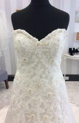 Justin Alexander | Wedding Dress | Drop Waist | WF2H