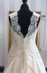 Terry Fox | Wedding Dress | Drop Waist | WF42