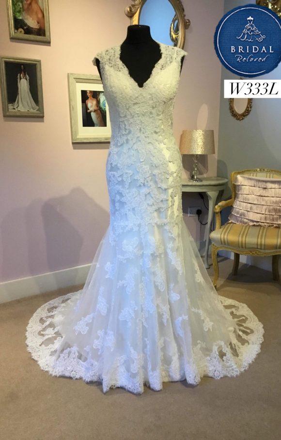 Maggie Sotterro   Wedding Dress   Fit to Flare   W333L