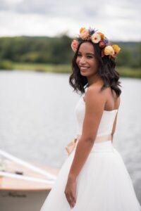 A Drop of Autumnal Colour – Ox Weddings Magazine