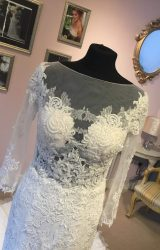 Nicole Spose | Wedding Dress | Fit to Flare | W347L