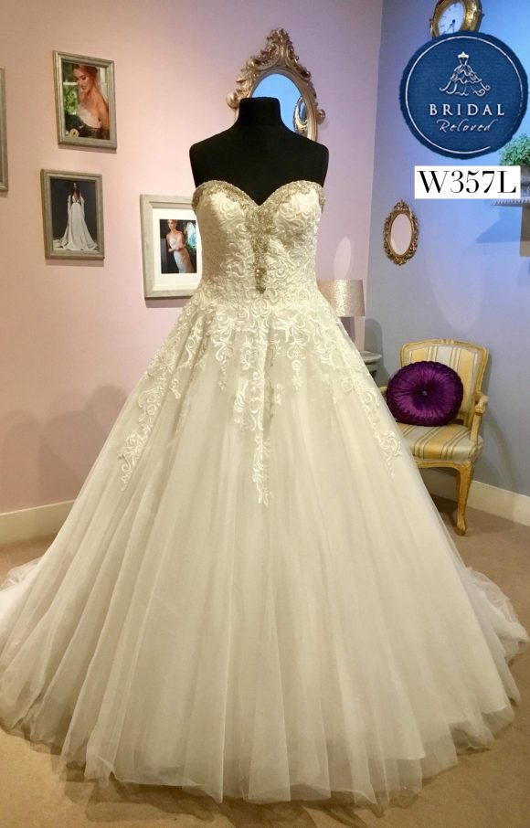 Allure Wedding Dress Princess W357l Bridal Reloved