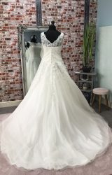 Justin Alexander | Wedding Dress | Aline | CA23G