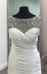 Lillian West | Wedding Dress | Drop Waist | D852K
