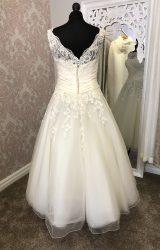 Justin Alexander | Wedding Dress | Tea Length | Y13E