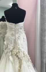 Terry Fox | Wedding Dress | Drop Waist | D746