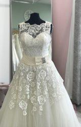 Justin Alexander | Wedding Dress | Aline | D878K