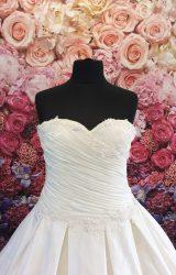 Madeline Isaac James   Wedding Dress   Aline   ST206