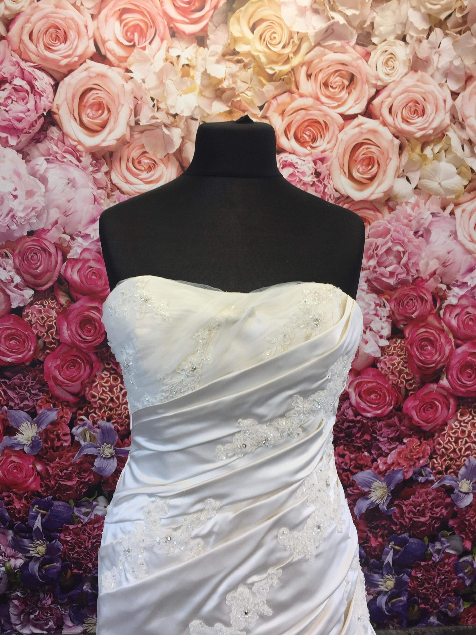 La Sposa Wedding Dress Drop Waist St243h Bridal Reloved