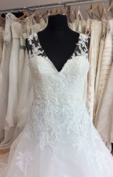 San Patrick   Wedding Dress   Aline   L326C