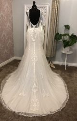 Lillian west   Wedding Dress   Fit to Flare   Y74