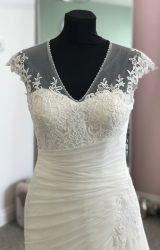Ronald Joyce | Wedding Dress | Drop Waist | D845K