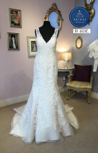 bf96eeab02b37 Cosmobella | Wedding Dress | Fit to Flare | W469L