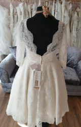 Lou Lou | Wedding Dress | Tea Length | N174G