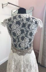 Claire Pettibone | Wedding Dress | Column | D908