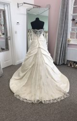 Ellis Bridal   Wedding Dress   Aline   D876K