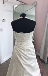 Justin Alexander | Wedding Dress | Drop Waist | D824K