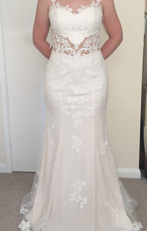 Justin Alexander | Wedding Dress | Trumpet | C1202