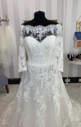 San Patrick | Wedding Dress | Aline | WF136H