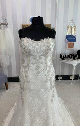 Enzoani | Wedding Dress | Drop Waist | WF138H