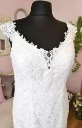 Catherine Parry | Wedding Dress | Fit to Flare | W544L