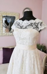 House of Mooshki | Wedding Dress | Tea Length | W560L