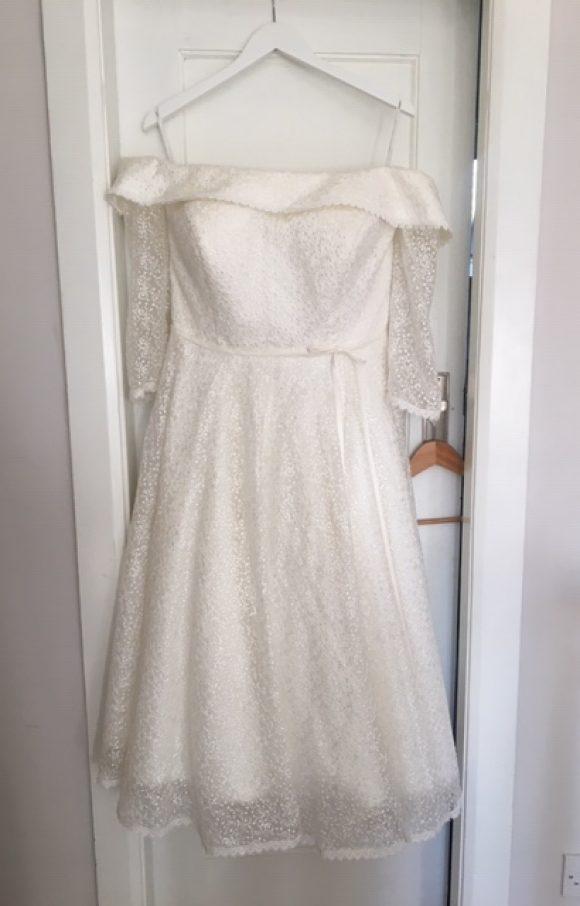House of Mooshki | Wedding Dress | Tea Length | C1425