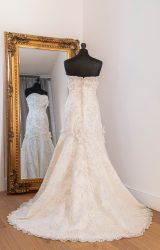 Justin Alexander   Wedding Dress   Fit to Flare   WH17C