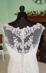 Luna Novias   Wedding Dress   Fit to Flare   SH52S