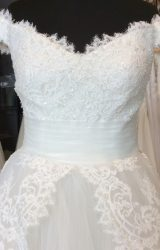 Rosa Clara | Wedding Dress | Aline | H271