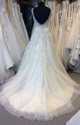 Kenneth Winston   Wedding Dress   Aline   H225