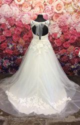 D'Zage | Wedding Dress | Aline | ST308S
