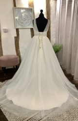 Mark Lesley | Wedding Dress | Aline | LA32L