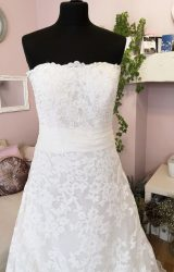 David Tutera   Wedding Dress   Aline   W586L