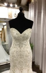 Justin Alexander | Wedding Dress | Fit to Flare | LA51L