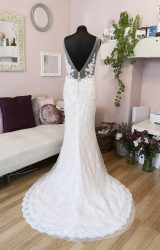 Rosa Couture | Wedding Dress | Fit to Flare | W598L