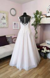 Sofia Blanca | Wedding Dress | Aline | W605L