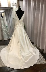 Morilee | Wedding Dress | Drop Waist | LA35L
