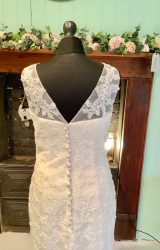 Mark Lesley | Wedding Dress | Fit to Flare | SH5S