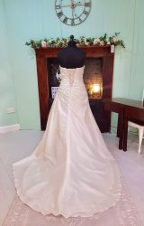 D'Zage | Wedding Dress | Aline | SH73S