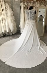 L Q Designs | Wedding Dress | Column | M109S
