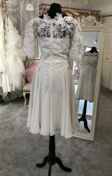 David Fielden | Wedding Dress | Tea Length | M115S