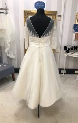 Ellis Bridal | Wedding Dress | Tea Length | WF162H