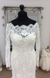 Watters   Wedding Dress   Aline   LE236M